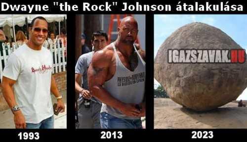 dwayne the rock johnson átalakulása