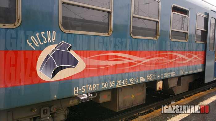 fecske vonat