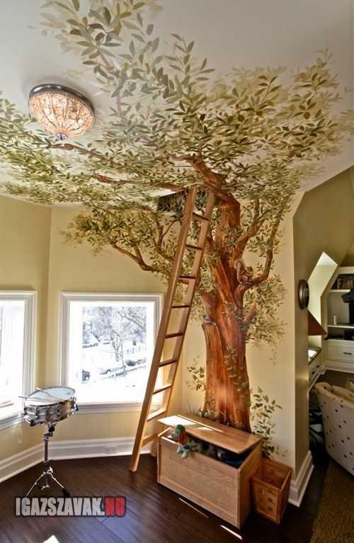 padlás a fa tetején