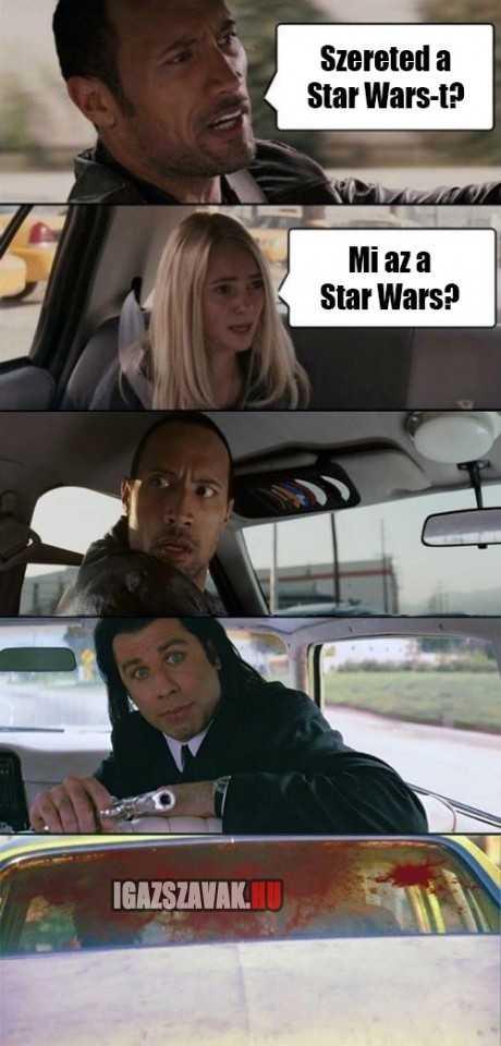 szereted a star wars-t