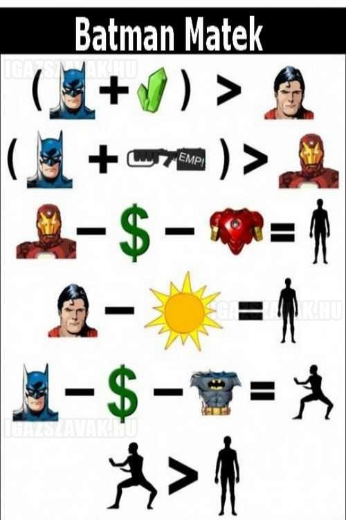 Batman matek