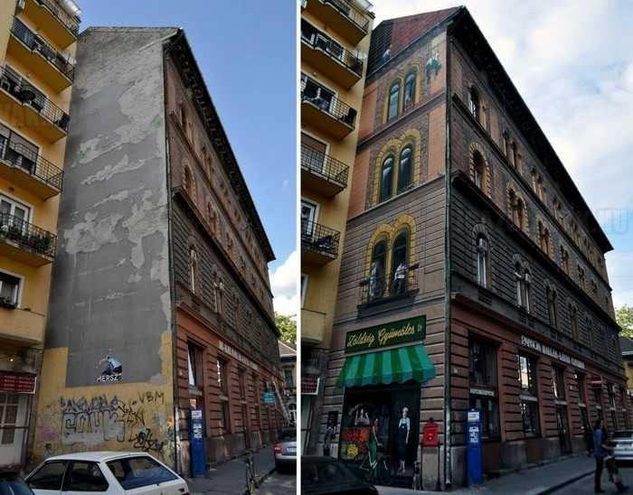 Budapesti falfestéscsillagos ötös!