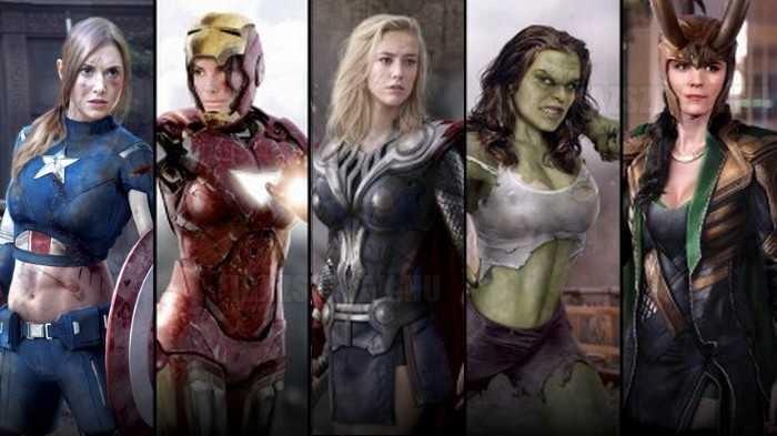 Ha a Bosszúállók nők lennének