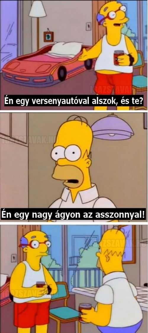 Homer legjobb visszaszólása