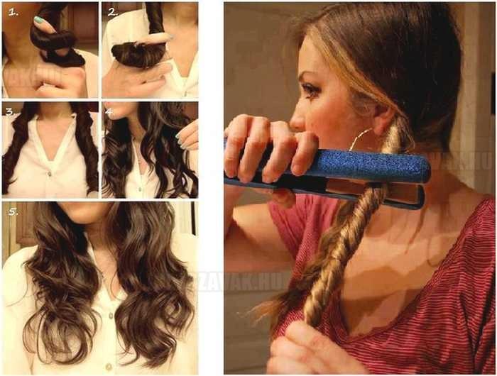 Hullámos fürtök egyszerűen - Így készítsd magadnak göndör frizurát