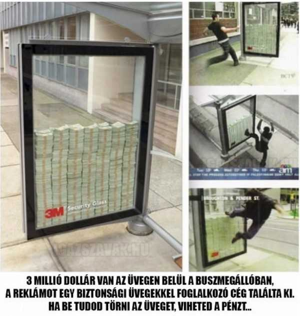 Törd be és vidd a 3 millió dollárt!