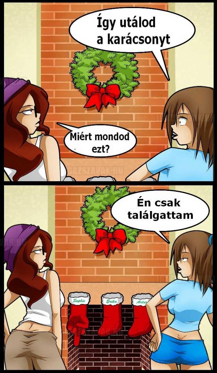 karácsonyi kesztyű