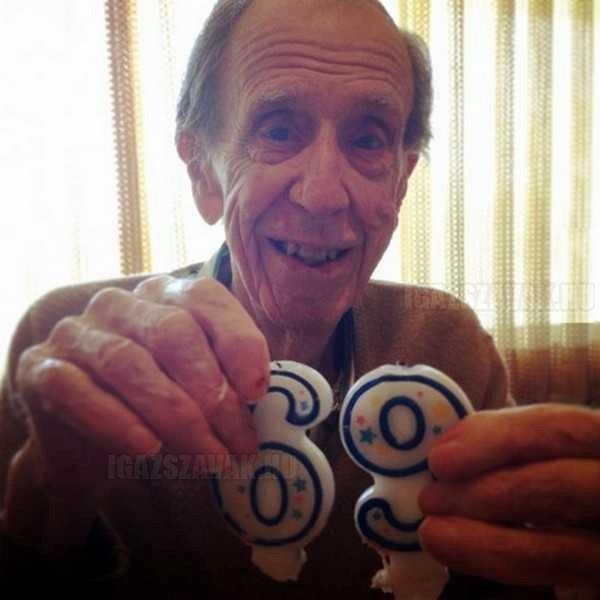 96 éves, de még mindig piszkos a fantáziája...