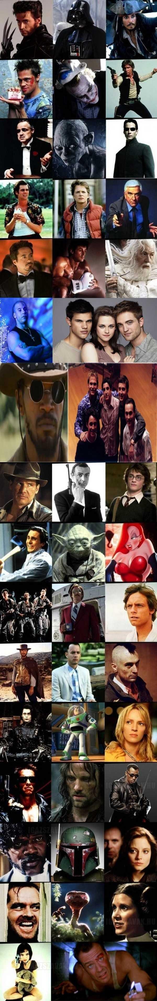 A legemlékezetesebb filmszerepek