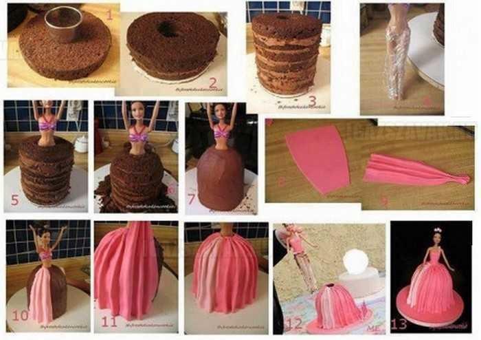 Csináld magad - Barbie torta lépésről lépésre!