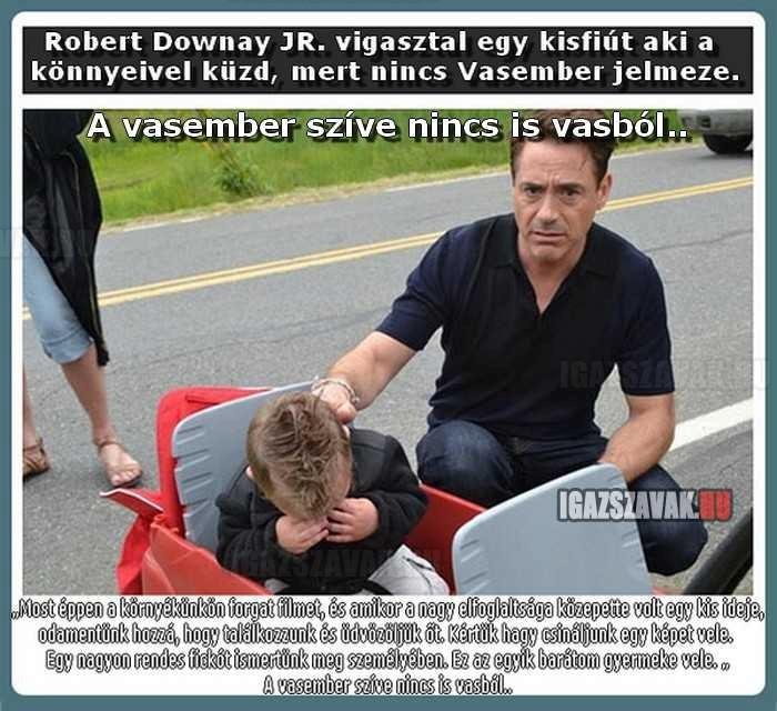 Ezért birjuk annyira Robert Downey Jr.