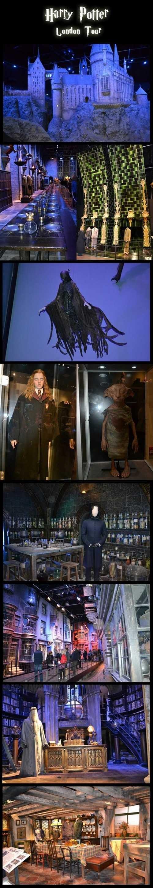 Harry Potter kiállítás, ahova egyszer el kell jutni