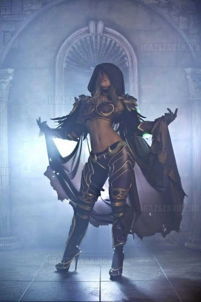 Lady Sylvanas cosplay (World of Warcraft)