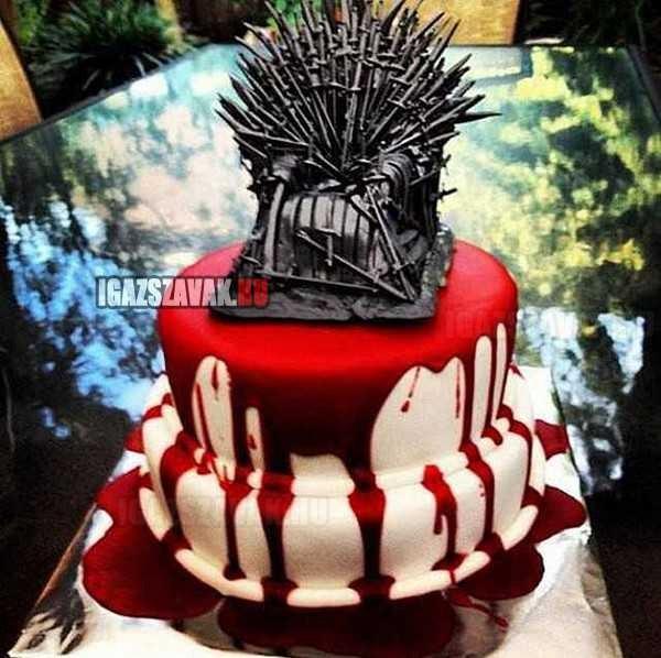 Trónok harca torta ...