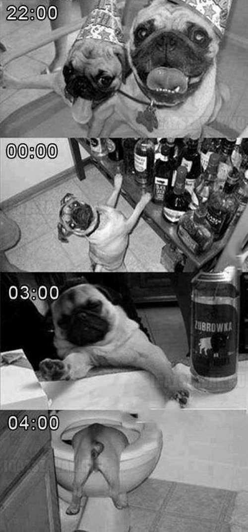 egy tipikus hétvége