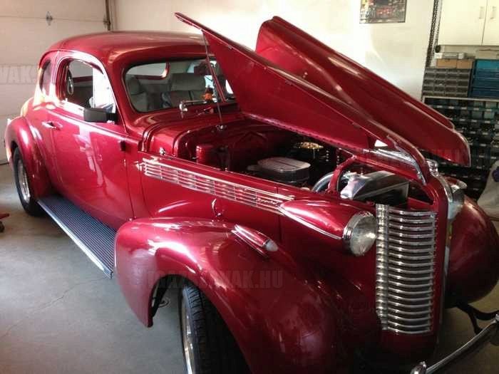 1938 Buick Hot Rod 7 év alatt megvalósúlt álom.