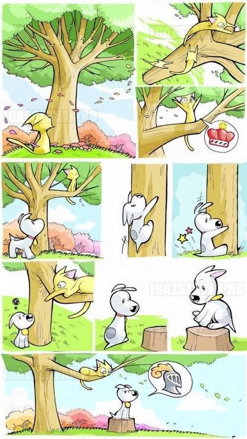 Aranyos történet...