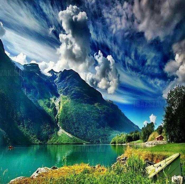 Gyönyörű norvég nyár