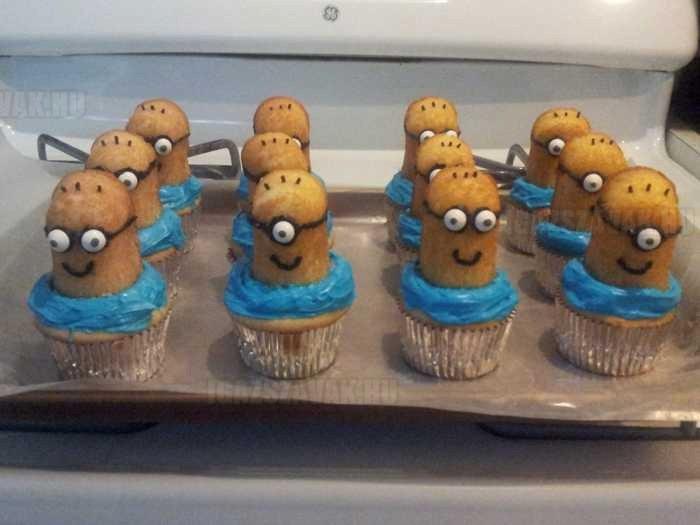 a legjobban sikerült minion muffin