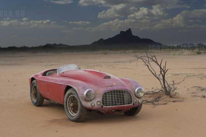 csak egy régi Ferrari