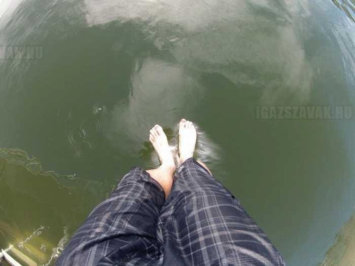 ez az a pillanat amikor rájössz, hogy te nem tudsz a vízen járni