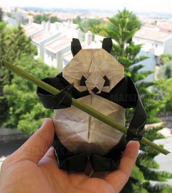papír panda
