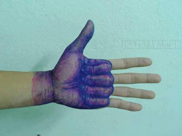 ötletes golyóstoll tetoválás