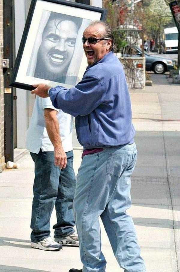 Ezért a kedvencünk Jack Nicholson!
