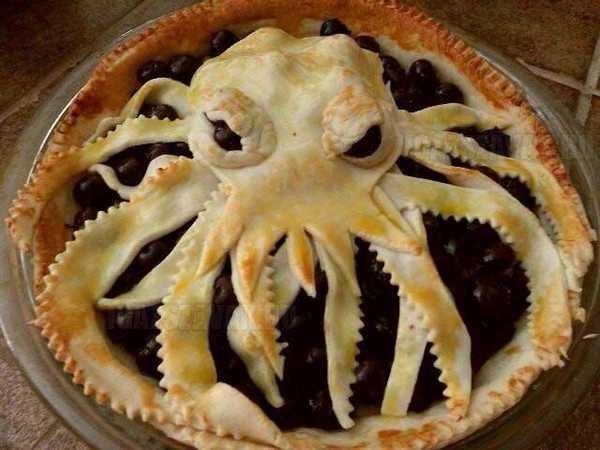 kraken meggyes pite