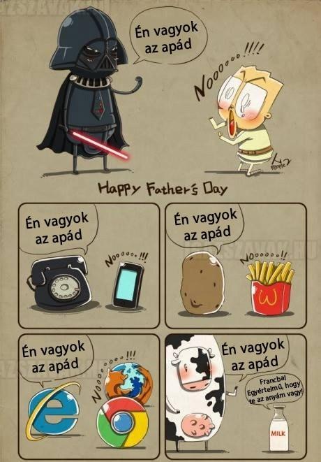 Én vagyok az apád