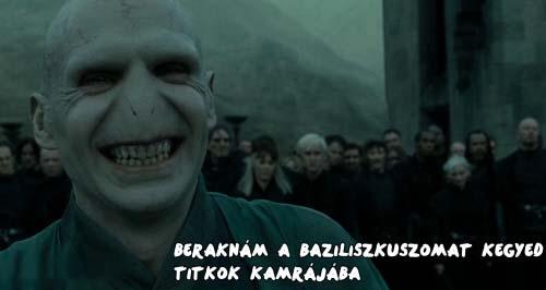 Így udvarol Voldemort