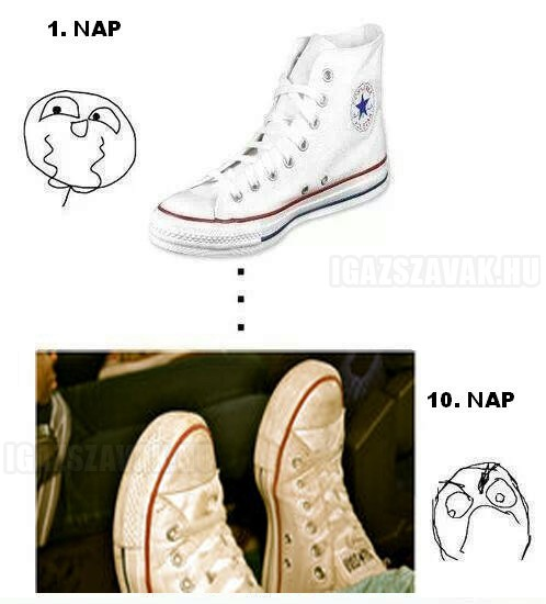 Csak a Converse...