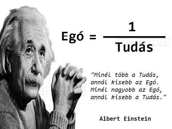 Einstein megmondta a frankót
