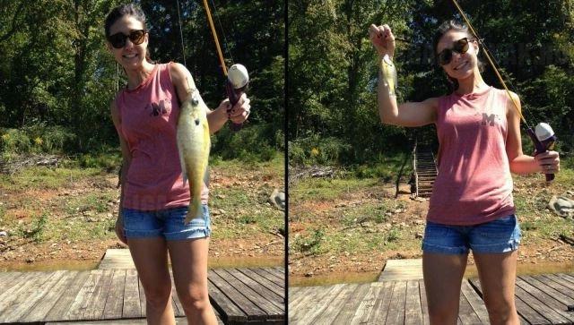 Ekkora halat fogott a barátnőm! Várjunk csak…