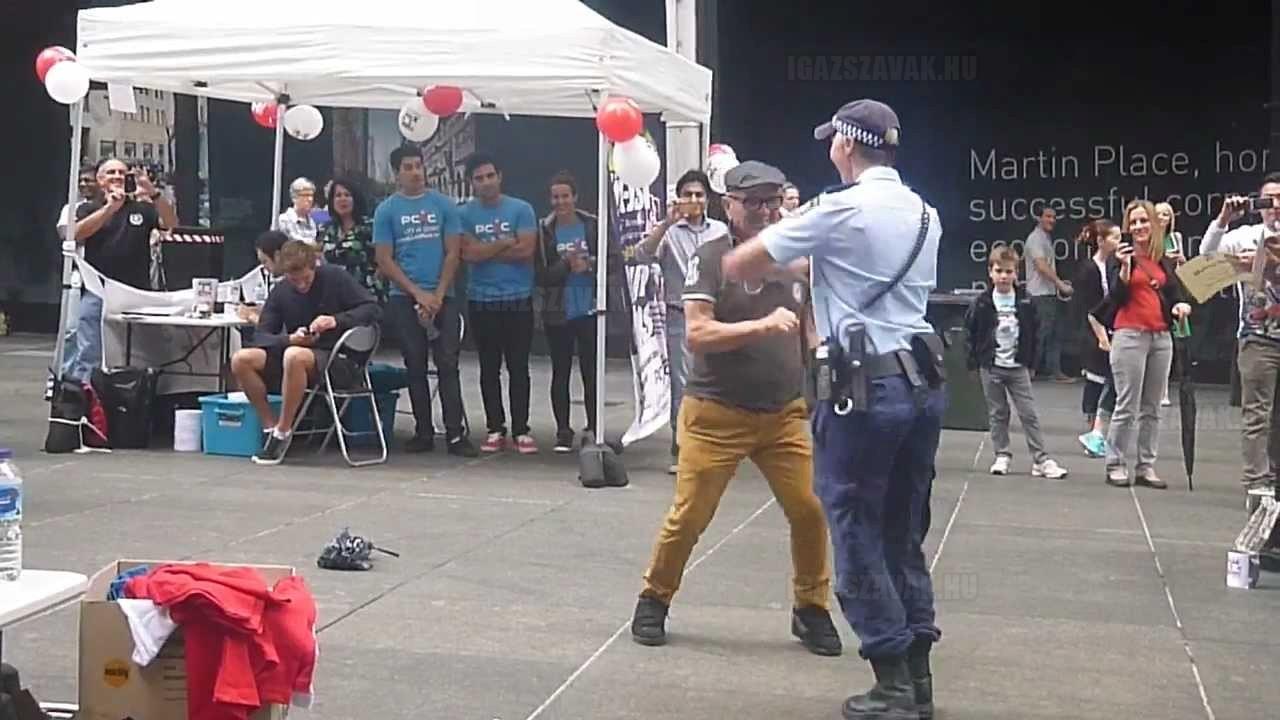 Egy hihetetlen rendőrnő!
