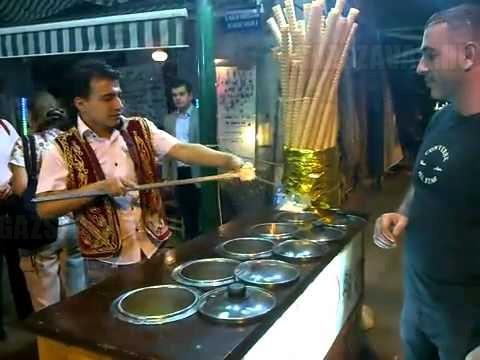 Isztambuli fagyiárus