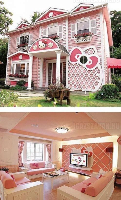 Beköltöznétek egy ilyen Hello Kitty házba