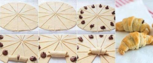 Csináld egyszerűen - Nutellás Croissant