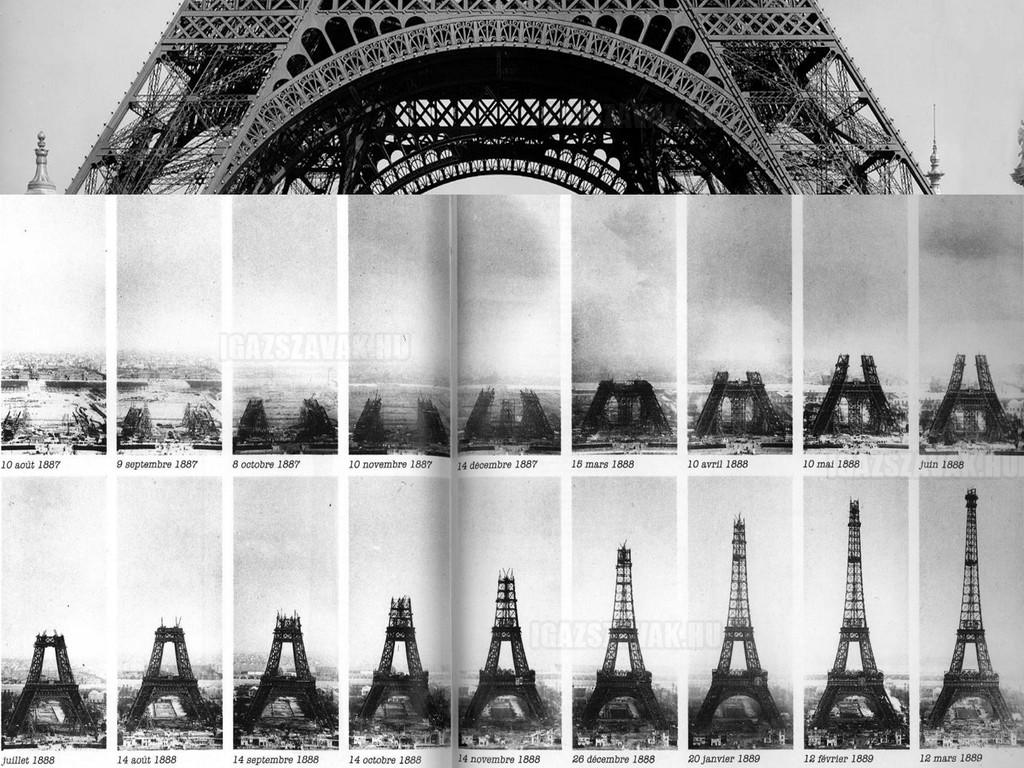 Eiffel torony lépésről lépésre