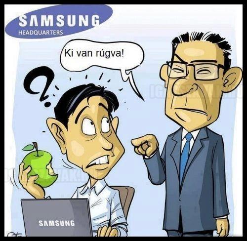 Eközben a Samsungnál