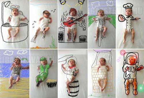 Ez történik ha túl kreatívak a szülők...