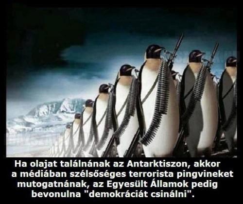 Ha olajat találnának az Antarktiszon...