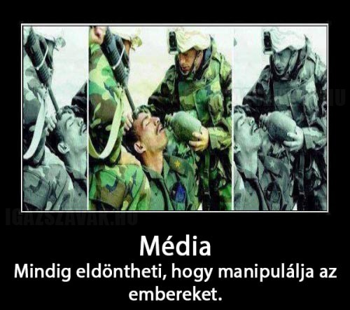 Ilyen a média...
