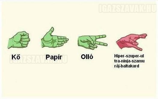 Kó - papír - olló