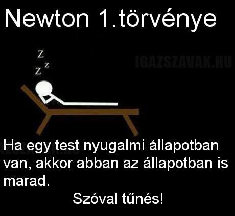 Newton első törvénye