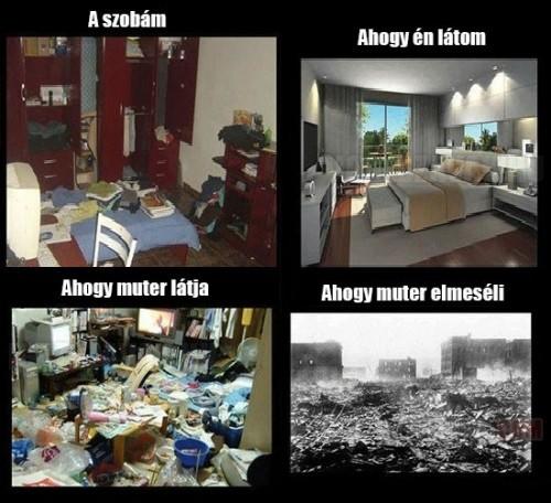 Pedig nem is olyan vészes a szobám