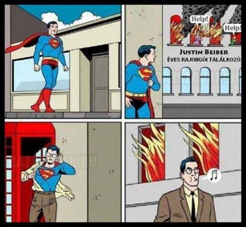 Superman se szereti...