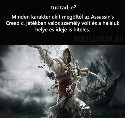 Tudtad-e - Assasin's Creed