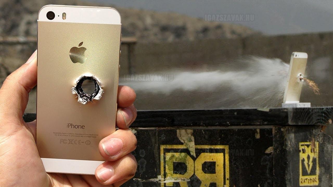 Nem, nem állít meg egy golyót az új iPhone