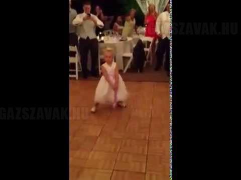 Táncos kislány – Így kell feldobni egy esküvőt